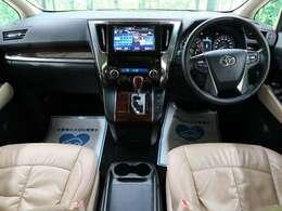 ◆【H29年式アルファード入庫いたしました!!】人気のベージュ内装!ゆったりご利用いただけるお車になります!!