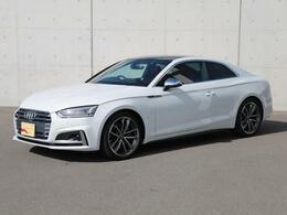 アウディ S5 3.0 4WD マグマレッドレザー サンルーフ 認定中古車