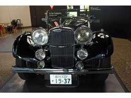 1937年型 アルヴィスVanden Plas Tourer4.3Lヘリテイジモデル