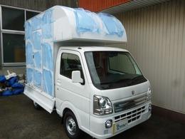 スズキ キャリイ 660 KX 3方開 移動販売車・キッチンカー・SD製新規製作