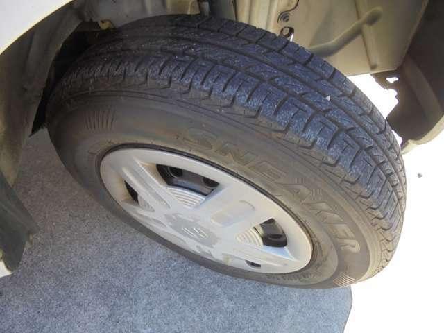 タイヤまだまだです!