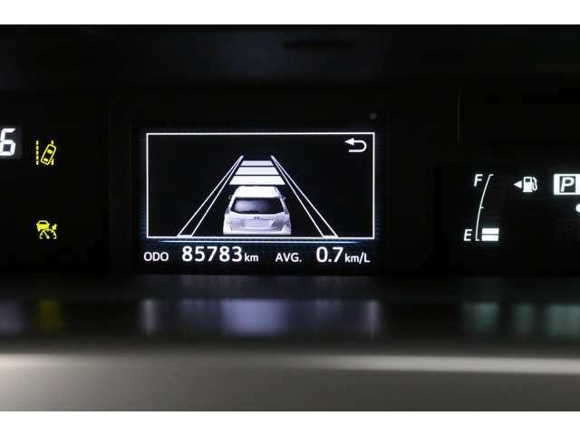 レーダークルーズコントロール使用時の車間距離設定を3段階で切り替えできます。