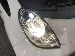LEDヘッドライトで更に省エネ、明るいです!