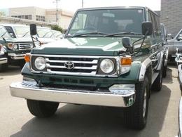 トヨタ ランドクルーザー70 4.2 ZX ディーゼル 4WD サンルーフ・スライド・チルト付