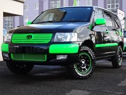 トヨタ サクシード 1.5 TX Gパッケージ リミテッド 4WD リフトアップ マッドタイヤ カスタムオ-ダ-