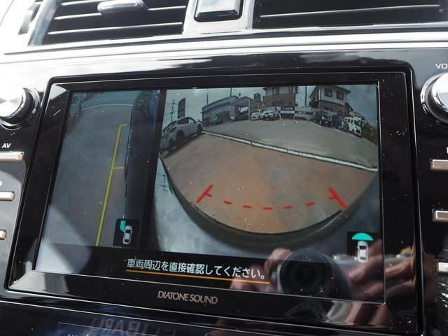 フロントビューカメラ/サイドビューカメラ付きで車庫入れも安心です