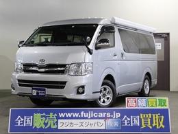 トヨタ ハイエース キャンピング ナッツRV ファミモ タイプA 4WD ベバストFFヒーター レザーシート