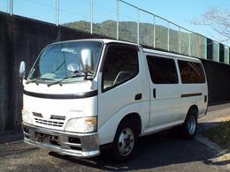 トヨタ ダイナルートバン 4.0 超低床 ディーゼルターボ(116PS) ETC オートマ車 2t メッキパーツ