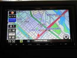 オプションセットのフルセグ地デジナビ(DVD再生・CD録音・Bluetooth・ハンドルリモコン対応。