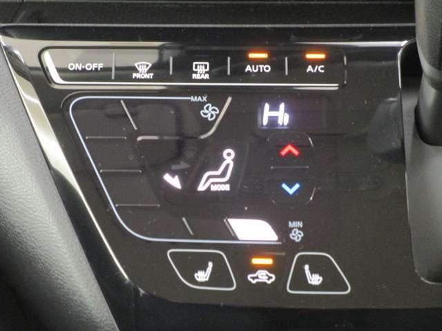 エアコンはフルオートタイプになります。