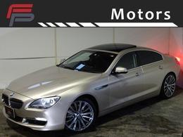 BMW 6シリーズグランクーペ 640i 禁煙 サンルーフ 黒革 新品鍛造20AW