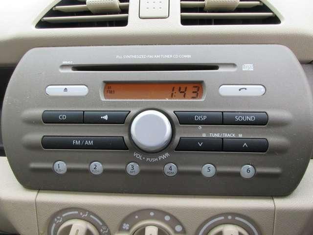 ラジオ付きですのでFMトランスミッターを装着すれば携帯電話からの音楽が楽しめます☆