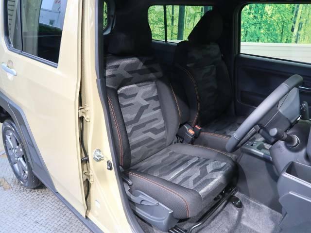 座り心地よいフロントシートは毎日のドライビングを快適にアシストしてくれます!