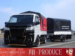ダイハツ ハイゼットトラック 660 エクストラ SAIIIt 3方開 4WD 5F・ボディ荷台専用スーパーホローカスタム