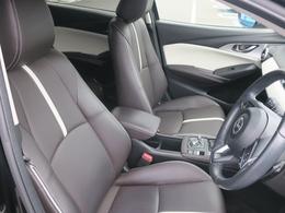 電動レザーシート!微妙な角度も調整可能!お好きなポジションで快適運転!