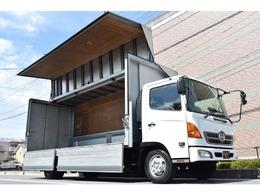 日野自動車 レンジャー アルミウィング 6.2m・バックカメラ付き・ターボ