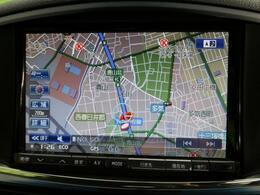【HDDナビ】使いやすいナビで目的地までしっかり案内してくれます。お車の運転がさらに楽しくなりますね!!
