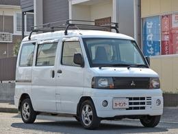 三菱 ミニキャブバン 660 CD ハイルーフ 車検R4/1 ルーフキャリア