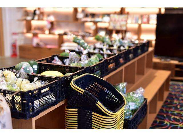 Bプラン画像:店内にあるユニオンスクウェアカフェでは旬の世羅野菜を使ったイタリアンを提供しております。なんと!土日には世羅産の新鮮野菜市も行っております♪