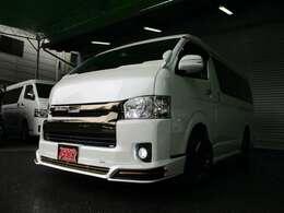 5型2.7ガソリンダークプライム☆アストロンエアロパッケージに18inファング、ウインカーミラー、テールランプをセットしました☆