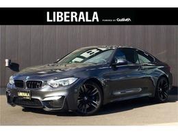 BMW M4クーペ 3.0 6MT 左H 黒革 OP19incAW 衝突軽減 D記録簿