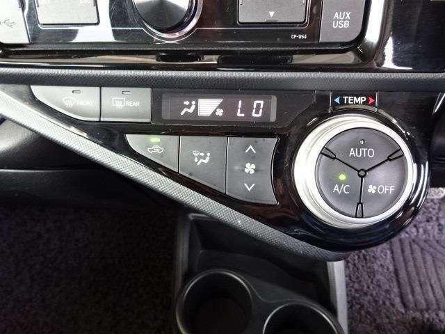 オートエアコンを装着しておりますので車内をお好みの快適な温度に保つことが可能です!