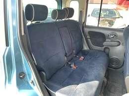 後部座席もゆったりと座ることができますよ