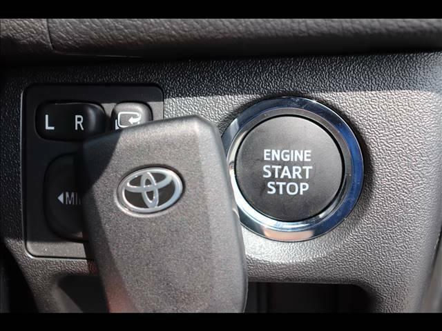エンジンはプッシュスタートで始動可能ですよ。