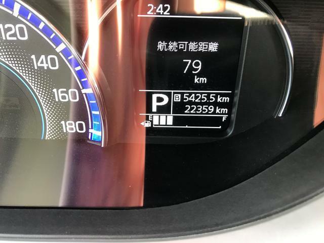 走行距離 22,359KMです。
