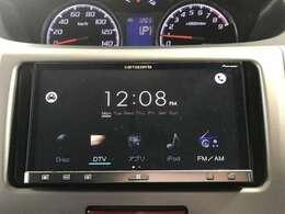 こちらのお車のオーディオの機能はCD再生・フルセグTV・スマートフォンをBluetooth接続して通話することができます!※Bluetooth接続で音楽を聴くことはできませんのでご了承ください。