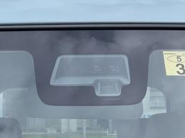 単眼カメラとレーザーレーダーを併用して前方の障害物等を認識する『デュアルセンサーブレーキサポート』を搭載!免許を取ったばかりの初心者さんからベテランさんまで、付いていてうれしい装備です☆