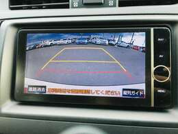 バックモニター付きで後方確認も安心です。駐車が苦手な方にもオススメな機能です!
