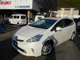 トヨタ プリウスα 1.8 S ツーリングセレクション LPG タクシー LPガス