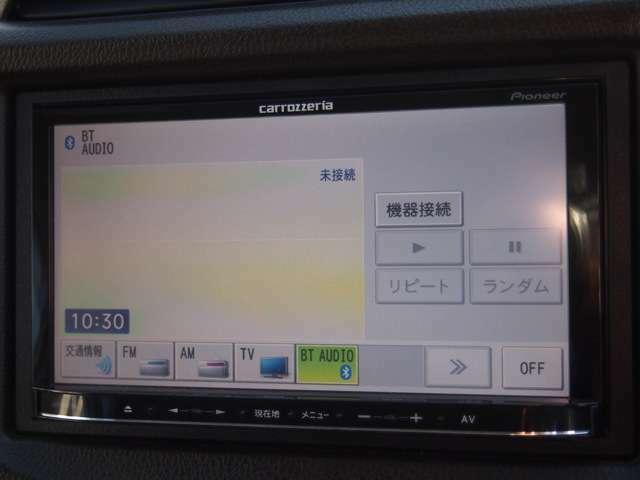 カロッツエリア メモリーナビ☆フルセグTV☆DVD再生☆Bluetooth