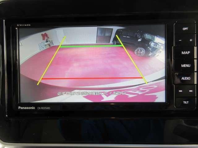 29万円オプションセットのバックカメラです。夜や雨の日の駐車も安心ですね☆