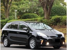 トヨタ プリウスα 1.8 S チューン ブラック ワンオーナー・禁煙車・LED・ETC