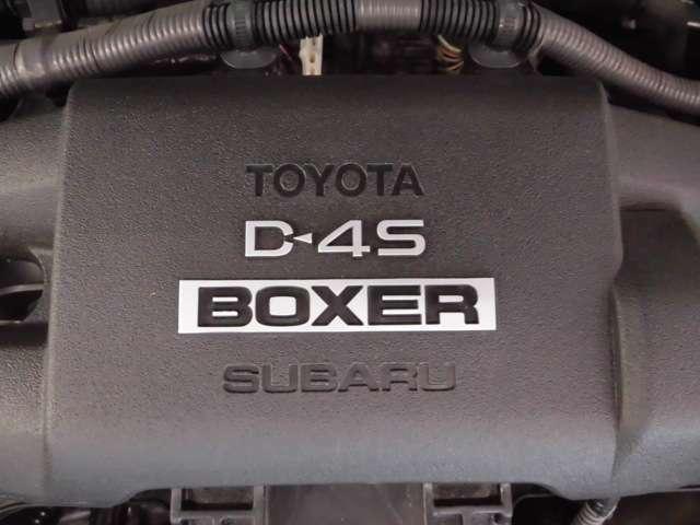 トヨタの直噴技術とスバルの代名詞ともいえる2リッター水平対向エンジンを融合した専用エンジンを搭載しています!!