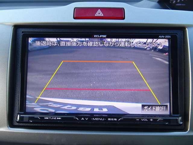 バックカメラ装備ですので駐車の際も安心です☆