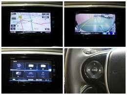 ホンダ純正ナビ(VXM-165VFi)付き!リンクアップフリー対応です♪渋滞情報など様々な情報を通信で入手♪ドライブの手助けをしてくれます!人気の大画面8インチナビです♪