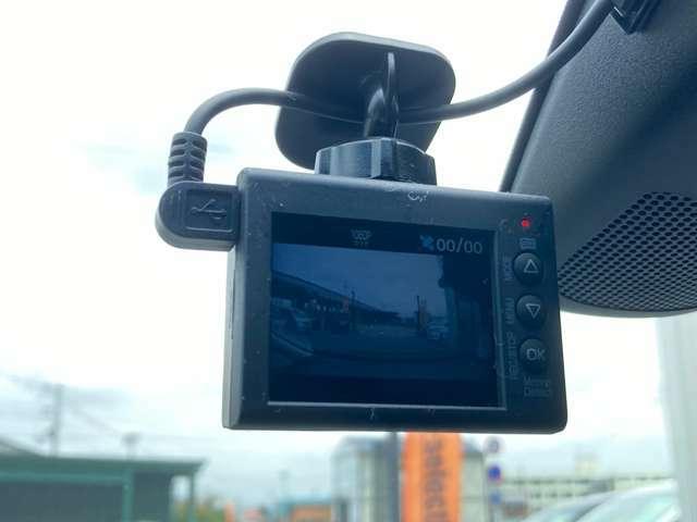 前方録画タイプ ユピテル製ドライブレコーダー