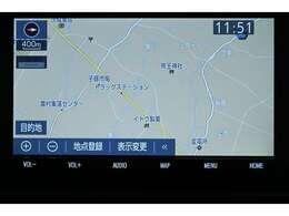 純正SDナビゲーション(NSZT-Y68T)  詳細地図も入っているので、初めて行く場所でも道に迷うことなく安心です!