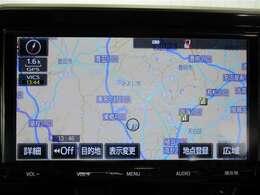 トヨタディーラーオプションのメモリーナビ装備しております☆タッチパネルで操作が出来ますので、とっても使いやすいです☆