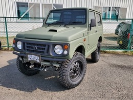 スズキ ジムニー 660 ワイルドウインド 4WD ラプターライナー全塗装 リフトアップ