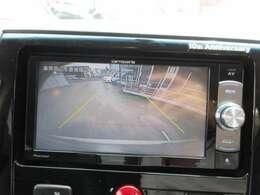 社外カロッツェリアメモリー付き♪ ガイド線付バックカメラで駐車も安心ですね♪ 広角のカメラで駐車も安心です♪
