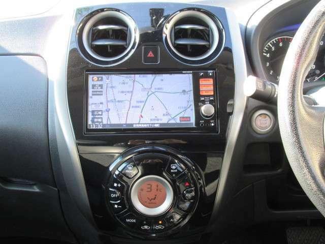 高機能ナビゲーションも魅力の装備で安心してドライブにお出かけ出来ますね。