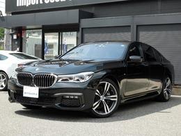 BMW 7シリーズ 740i Mスポーツ レーザーライト SR 黒革 ハーマン 1オーナ