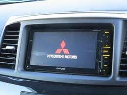 ケンウッド製メモリーナビ(MDV-X711W)フルセグ DVD再生機能 Bluetooth対応 USB接続可能 バックカメラ付き