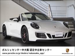 ポルシェ 911カブリオレ カレラ GTS PDK 新車保証/禁煙車/インテリアパッケージ