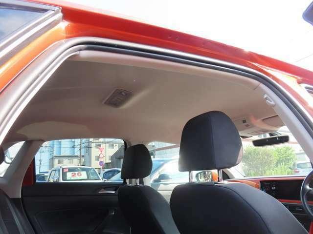 禁煙車ですので天井も大変綺麗な状態です。