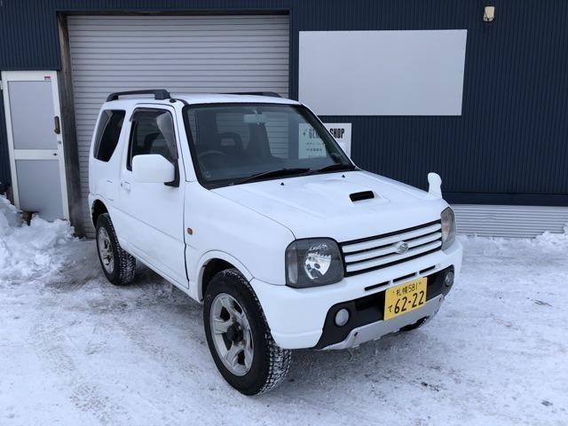 JB23-4型 ジムニーです。北海道の冬道にはもってこいなジムニーです!